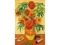 MARIJUANA JOINT POT 54117 WEED POSTER 24x36 ART OF ROLLING