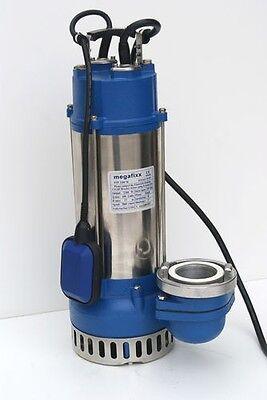 megafixx PTP2200M Profi Schmutzwasser Tauchpumpe bis 42000 L inkl. B Storz