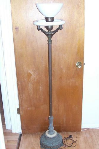 Old Floor Lamp Ebay