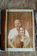 Laser Engraved Photo