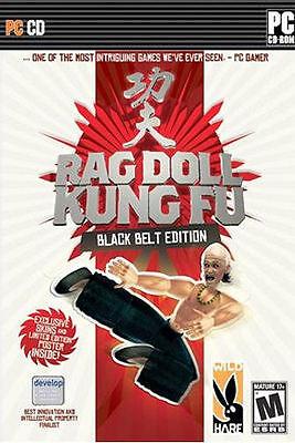 RAG DOLL KUNG FU Black Belt Edition - Classic Arcade Fighting Karate PC Game NEW