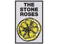 STANDING STONE ROSES -19TH June, STANDING- below face value