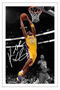 Signed Basketball