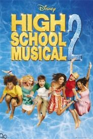 Lot of 3 High School Musical Maxi Posters NEW SEALED hsm, zac efron, ashley tisdale, troy, sharpay