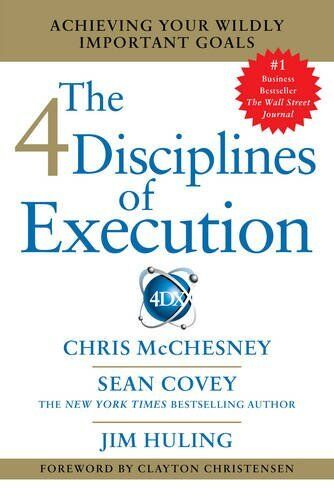 4 Disciplines of Execution: Getting Strategy Done New Paperback Book Sean Covey