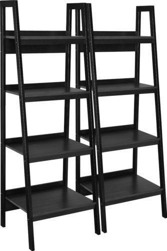 Black Metal Bookcase Ebay