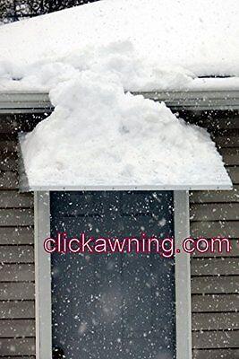 """Aluminum  46"""" wide X 36"""" deep X15"""" high white  awning Window Door  KIT"""