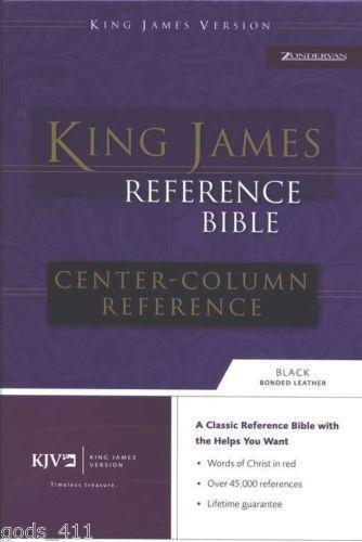 kjv bible thumb indexed