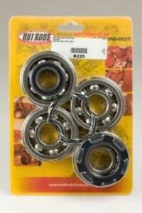 Hot Rods ATV Crankshaft Main Bearing/Seal Kit For Yamaha Banshee