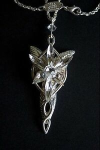 Lord-of-the-Rings-Arwen-Evenstar-Costume-Jewellry-Pendant-Necklace-Noble-Gift
