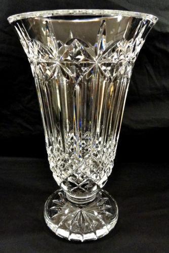 Waterford Crystal Vase 12 Ebay
