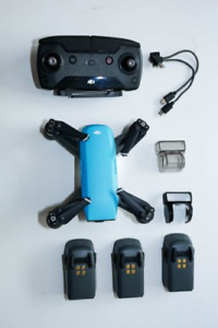 DJI Spark Fly More Combo (Sky Blue) - NEW