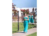 3 x Bridesmaids Dresses - Sizes 10 & 12