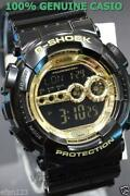 G Shock Black Gold