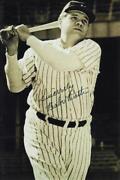 Babe Ruth Signed Baseball Card