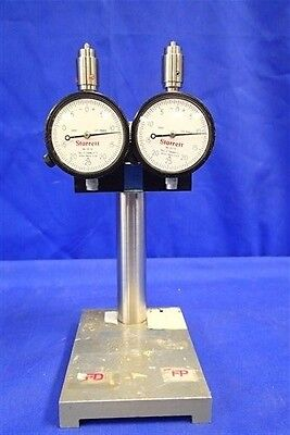 Lot Of 2 Starrett No. 25-131 Indicator W 8 Adjustable Stand
