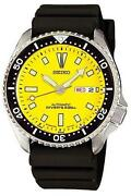 Seiko Diver Yellow