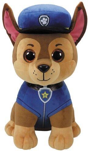 Paw Patrol Plüschtier Stofftier Kuscheltier Glubschi ty Plüsch Figur Chase Zuma Chase 42cm 7190250
