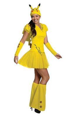 NEW NWT Rubie's Women's Costume Pokémon Female Pikachu Costume Medium ](Pokémon Costumes)