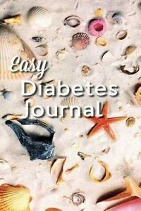 Easy Diabetes Journal: Pretty Seashells by Smith, Gary -Paperback