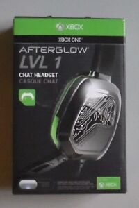 Xbox One Afterglow LVL 1 Gaming Headset - Green