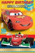 Disney Cars Birthday Card