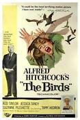 The Birds Hitchcock Poster