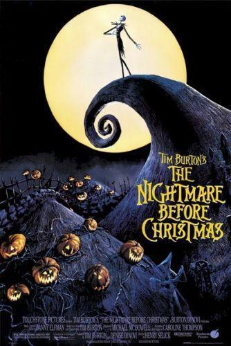 nightmare before christmas poster ebay - The Nightmare Before Christmas Poster