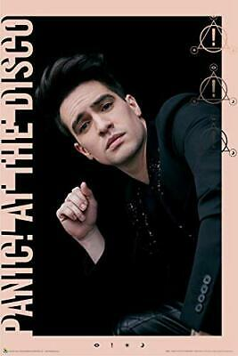 Panic! At The Disco Brendon Pink Border Poster