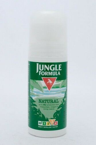 JUNGLE FORMULA MAXIMUM ROLL ON NATURAL 50ML