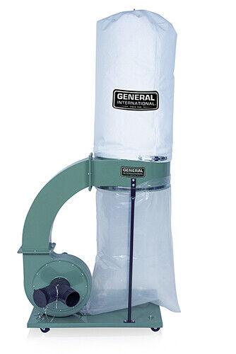 Dust Collector 1250 CFM,1.5 HP. Refurbished General International 10-105 M1