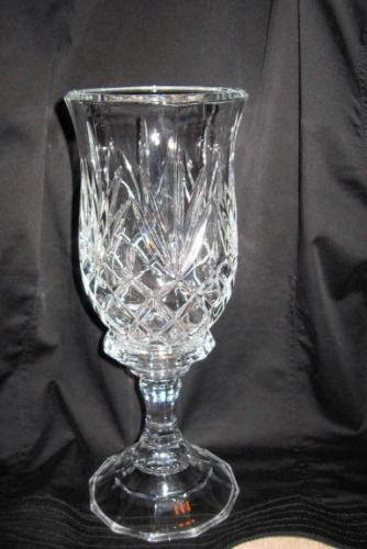 Pedestal Candle Holders : Glass pedestal candle holder ebay