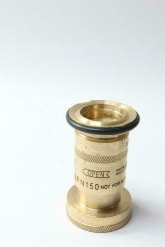 "Powhatan 175 PSI Brass Industrial Fog Spray Nozzle Portable, BFN150, 1 1/2"" NPSH"