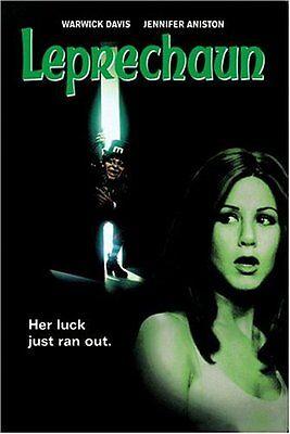 Leprechaun First Film 1 One DVD Set Jennifer Aniston Warwick Davis Horror Scary](Leprechaun Scary)