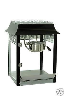New 1911 Black Chrome 4 Oz Popcorn Machine By Paragon