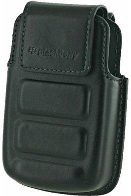 Blackberry Protective Black Leather Holster Case for Curve 8350i (HDW-20961-001) Blackberry 8350i Holster