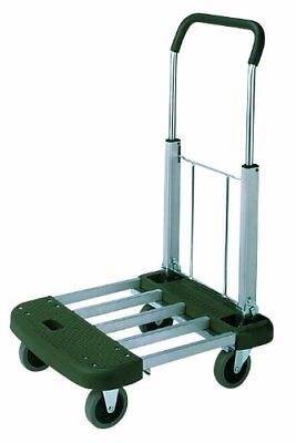 - Wesco 272048 Professional Series Aluminum Platform Truck with Telefolding Handle