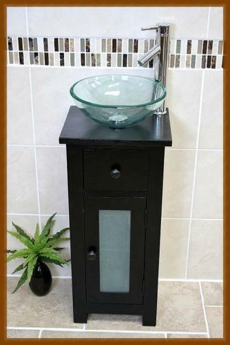 Glass Cloakroom Sink Ebay