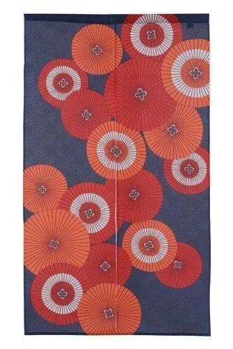 JAPANESE Noren Curtain NEW Umbrella BANKASA FROM JAPAN