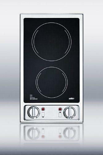 2 burner electric cooktop