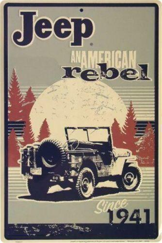 Jeep Metal Sign Ebay