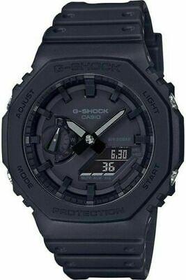 Casio G-Shock GA-2100-1A1ER - Black (CasiOak) Carbon Core Guard Watch UK