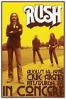 Rush Band Poster