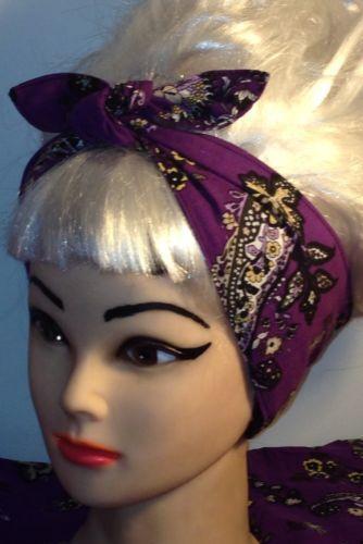 Hair Bandana Ebay