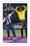 Usain Bolt Signed