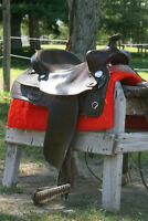 Quality saddle and breastplate