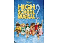 Lot of 3 High School Musical Max Posters NEW SEALED hsm, zac efron, troy, ashley tisdale, sharpay