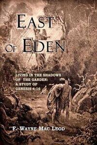 East Eden Living in Shadows Garden Study Gen by Mac Leod F Wayne -Paperback
