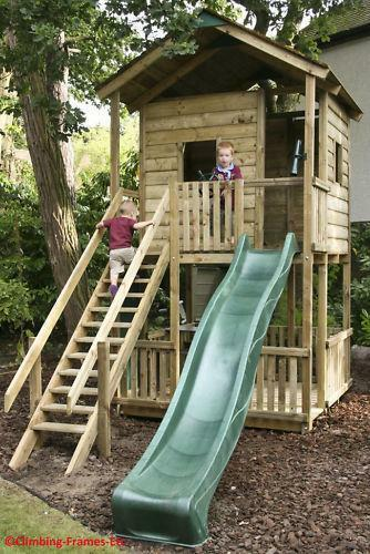 Do It Yourself Home Design: Wooden Tree House: Outdoor Toys & Activities