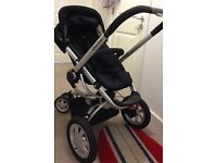Quinny Buzz buggy with car seat and carry cot